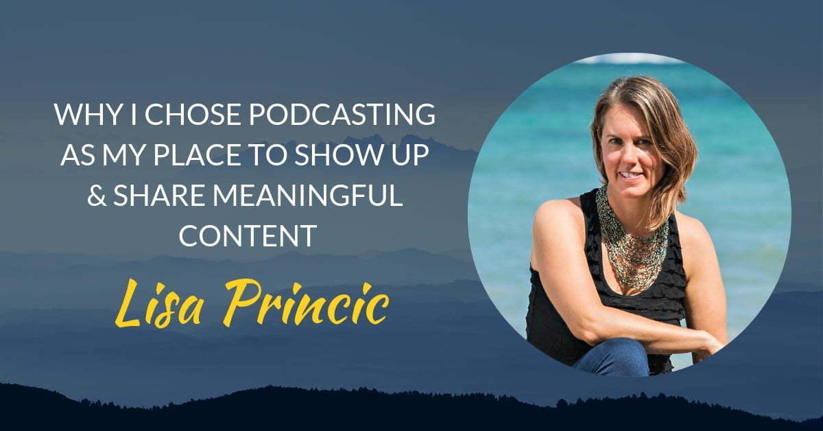 Podcast #13 Lisa Princic's page header