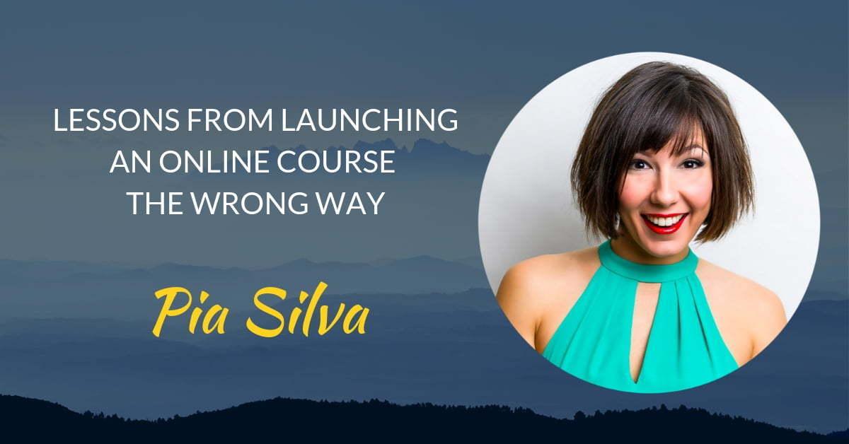 Podcast #15 Pia Silva's page header