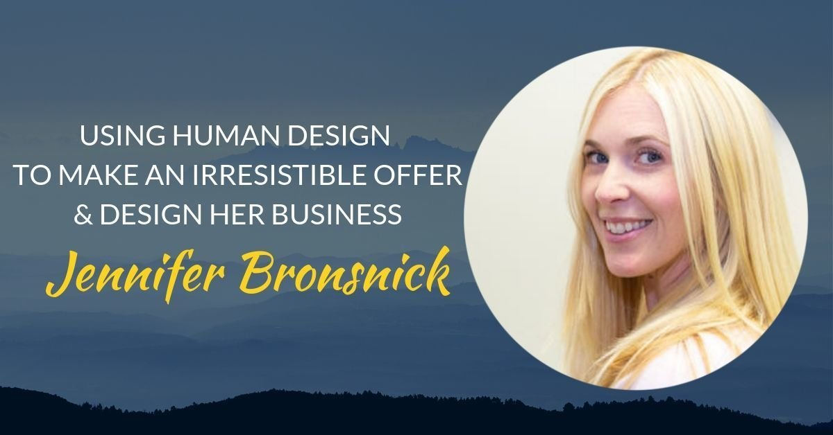 Podcast #23 Jennifer Bronsnick page header