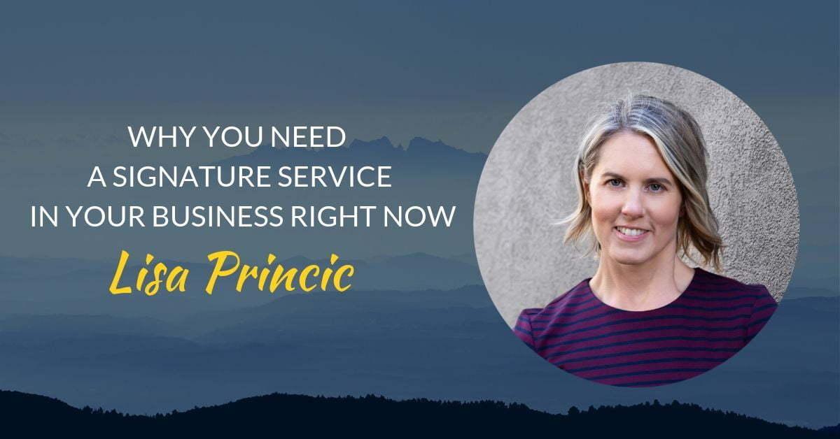 Podcast #25 Lisa Princic page header(1)