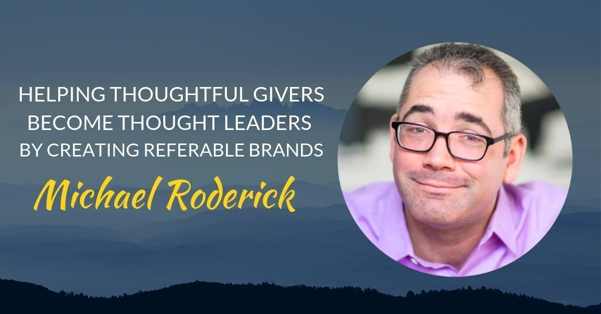 Podcast #26 Michael Roderick page header