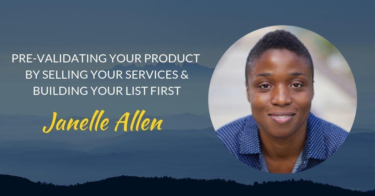 Podcast #27 Janelle Allen page header