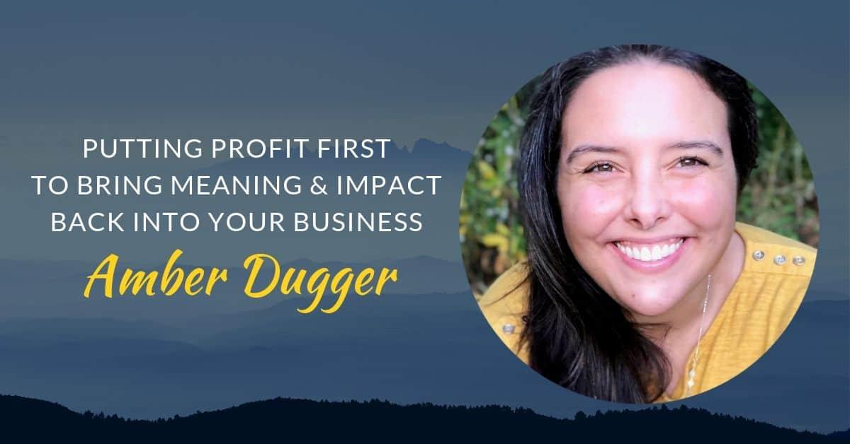 Podcast #39 Amber Dugger page header