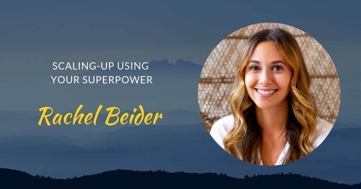 Podcast #42 Rachel Beider page header