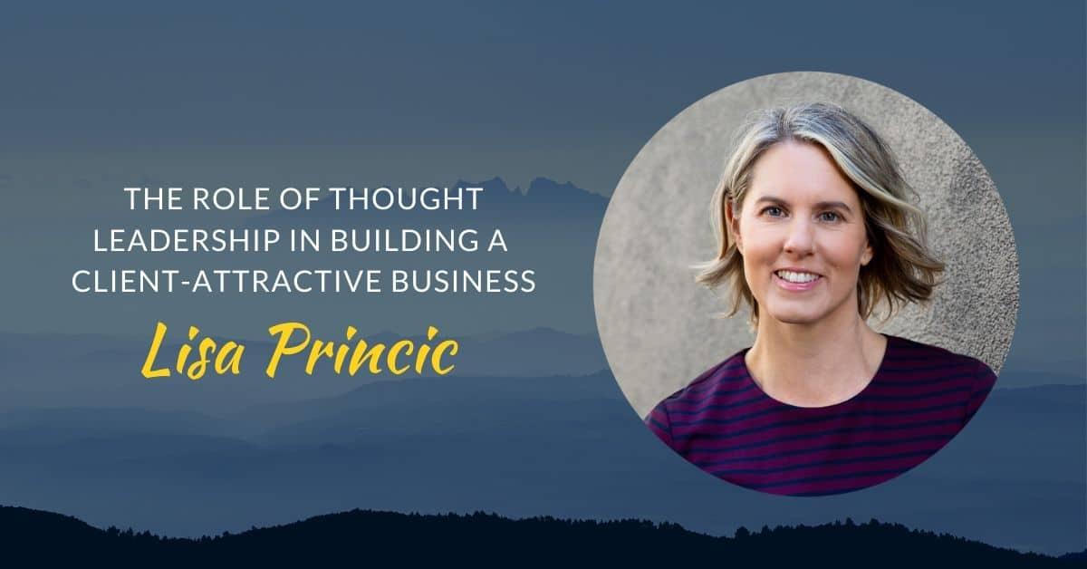 Podcast #45 Lisa Princic page header