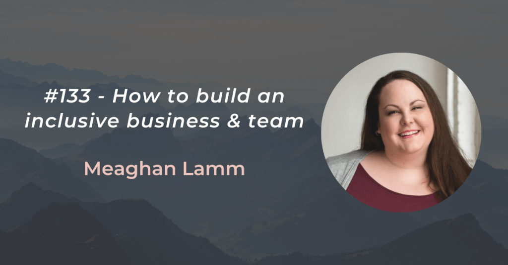 #133 page header Meaghan Lamm